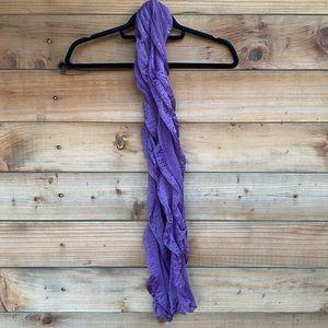 ⚡️Purple chiffon scarf
